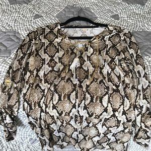 Michael Kors metal lace shirt